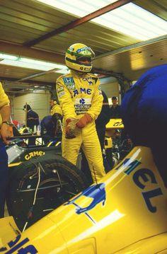 Ayrton Senna 1987 - Lotus 99T