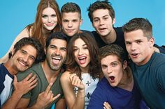 Image de teen wolf, tyler posey, and dylan o'brien Charlie Carver, Funny Faces Pictures, Wolf Pictures, Dylan Sprayberry, Daniel Sharman, Cody Christian, Tyler Posey, Tyler Hoechlin, Movies And Series