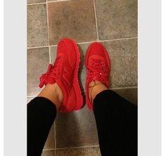 shoes trainers new balance red sneakers new balance sneakers all red shorts cute dope balance