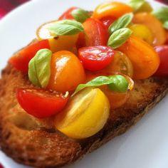 Peaches and Donuts: Bruschetta Al Pomodoro