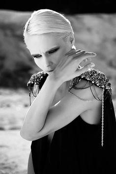 fashion editorial  ph. Ilaraia Licci designer Simone Bruno hair-make up Giovanna A. Stasi model Inna Tichko