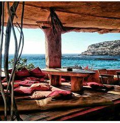 construed did just ok good good time Sunset Ashram Ibiza Ibiza Sunset, Ibiza Beach, Beautiful Islands, Beautiful World, Beautiful Places, Porches, Ibiza Holidays, Places To Travel, Places To Go