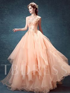 Cheap quinceanera dresses, Buy Quality dresses quinceanera dresses directly from China dress quinceanera Suppliers: Ball Gown Dresses 2016 pink flower backless chiffon Quinceanera dresses scoop sleeveless ball gown long dresses Cheap Pink Dresses, Sweet 16 Dresses, Dresses For Sale, Dresses Online, Dresses 2016, Long Dresses, Robes Quinceanera, Cheap Quinceanera Dresses, Ball Gown Dresses