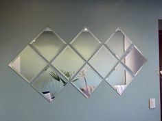 Contemporary Decor charming suggestion 2284138100 - From amazing to contemporary contemporary decorating tricks to arrange a super satisfying and lovely space. Ikea Mirror, Wall Mirrors Set, Diy Mirror, Mirror Decor Living Room, Wall Decor, Deco Studio, Contemporary Home Decor, Home Decor Furniture, Square Mirrors
