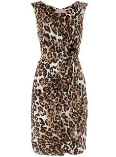Animal print dress - Going Out Dresses - Dresses - Dorothy Perkins United States