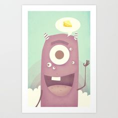 Say Cheese Art Print by Pope Saint Victor - $19.00