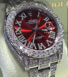 Diamond Watches Collection : Rolex Just my style - Watches Topia - Watches: Best Lists, Trends & the Latest Styles Datejust Rolex, Gold Rolex, Diamond Rolex, Mens Diamond Watches, Rolex Day Date, Expensive Watches, Affordable Watches, Vintage Rolex, Luxury Watches For Men