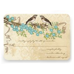 Discount DealsAqua Cherry Blossom Vintage Bird Weddings Custom Inviteso please read the important details before your purchasing anyway here is the best buy