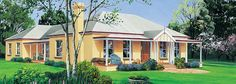 The Camden Facade - Paal Kit Homes offer easy to build steel frame kit homes for the owner builder and have display / sale centres in Sydney NSW, Melbourne VIC, Brisbane QLD, Townsville NTH QLD, Perth WA.