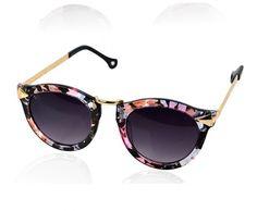 New Trendy Black Floral 2014 Sunglasses