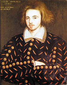Wikipedia.org/ Christopher Marlowe-- also known as Kit Marlowe (1564-1593), was an English playwright, poet & translator of the Elizabethan era. Marlowe was the foremost Elizabethan tragedian of his day. He greatly influenced William Shakespeare, who was born in the same year as Marlowe who rose to become the pre-eminent Elizabethan playwright after Marlowe's mysterious early death. Marlowe's plays are known for the use of blank verse & their overreaching protagonists.