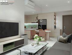 Thiết kế căn hộ chung cư Safira Khang Điền 85m2 - EKE INTERIOR Flat Screen, Projects, Sapphire, Log Projects, Plate Display