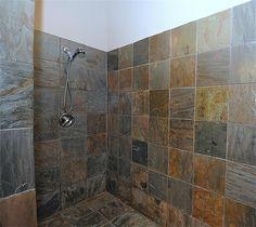 Delicious Fiberglass shower remodeling decor,Shower remodeling ideas rustic tips and Shower remodel diy bath tubs ideas. Small Bathroom With Shower, Master Shower, Attic Bathroom, Bathroom Ideas, Bathroom Plans, Small Bathrooms, Bath Ideas, Master Bath, Slate Shower
