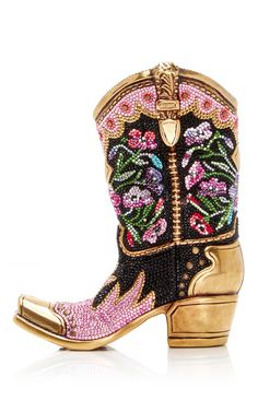 Judith Leiber Couture Belle Cowgirl Boot Clutch