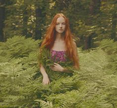 Ferns! So many ferns! Ferns are my plants. Ferns and orchids. I want to live among them. -M || Olga Moskvina by Katerina Plotnikova