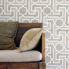 Moroccan Stencils | Moroccan Key Stencil | Royal Design Studio