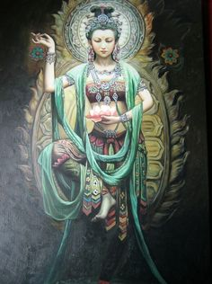 Kwan Yin is an East Asian goddess of mercy, and a bodhisattva associated with compassion as venerated byMahayana Buddhists.