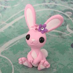 Pink Bunny by DragonsAndBeasties.deviantart.com on @deviantART