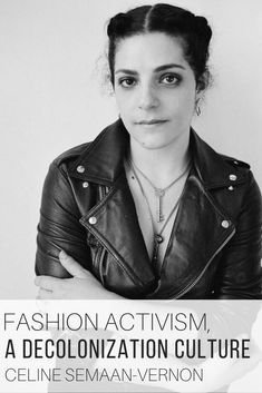 Fashion Activism as coined by Celine Semaan-Vernon by The Wardrobe Stylist. Activism in fashion as demonstrated by organizations such as Slow Factory, where the emphasis is on slow fashion, sustainability, old world ways in our modern world bringing forward social and environmental justice. #Sustainability #SlowFashion #Activism #EcoFriendlyFashion #Decolonization