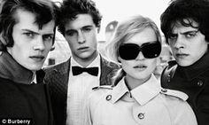 Kate Moss Burberry Glasses