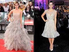 Emma Watson in Oscar de la Renta and Elie Saab Haute Couture - HP7 London Premiere. Does she ever look bad?