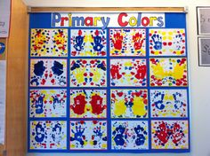 Art In Primary Colors