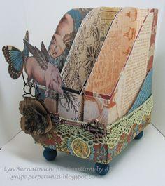 paper craft - organiser