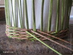 Поделка изделие Пасха Плетение Пасха Мое плетения Небольшой МК донышка Бумага фото 28