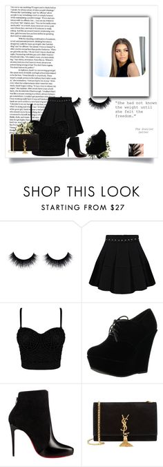 """""""Untitled #3"""" by princess113657 ❤ liked on Polyvore featuring Forever Link, Christian Louboutin and Yves Saint Laurent"""