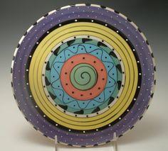 Pottery Plate Paint Ideas | Creative pottery Painting Ideas / Dinner Plate Pottery Plate Platter ...