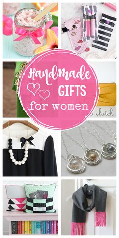 25 Great Handmade Gifts for Women - Crazy Little Projects Christmas Gifts For Girls, Handmade Christmas, Christmas Sewing, Rustic Christmas, Christmas 2019, Holiday Gifts, Christmas Ideas, Easy Sewing Projects, Sewing Hacks