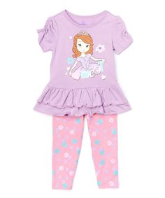 Look at this Sofia the First 'Sweet' Tunic & Leggings - Toddler on #zulily today!