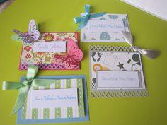 Tarjetas de presentacion niña | Mi linda inspiracion