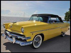 54 Ford...love the lemon yellow.