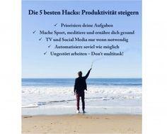 Die 5 besten Hacks: Produktivität steigern! Erfahre hier mehr: http://www.fempreneur.de/die-5-besten-hacks-produktivitaet-steigern/ #Fempreneur #Produktivität