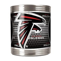 Everyone has a Coozie, but this Stainless Steel Atlanta Falcons Can Coozie with high def graphics is awesome!