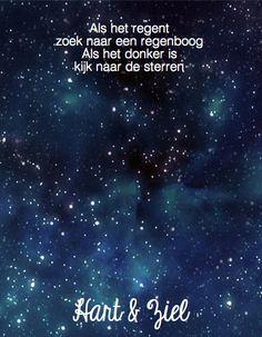 #quote #citaat #regenboog #sterren