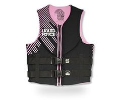 The Liquid Force Classic Hinge CGA vest is ready for all of your on the water activities. These vests have it all and then some… comfort, safety, and VALUE. You will find the HINGE CLASSIC series lightweight, secure, and at a price you can afford.
