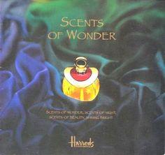 HARRODS- Londres-SCENTS of WONDER-Catalogue Parfums Internationaux- années 1990