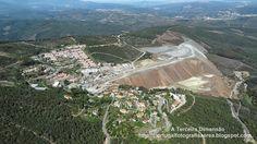 A Terceira Dimensão - Fotografia Aérea: Minas da Panasqueira