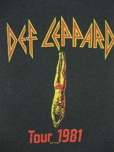 Def Leppard 81 Tour