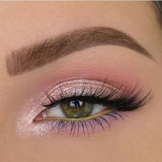 35 Pink Eye Makeup Looks To Try This Season! - Eye makeup looks - 35 Pink Eye Makeup Looks To Try This Season! 35 Pink Eye Makeup Looks To Try This Season!,Make up 35 Pink Eye Makeup Looks To Try This Season! Pink Eye Makeup Looks, Pink Makeup, Cute Makeup, Pretty Makeup, Spring Eye Makeup, Daily Eye Makeup, Light Makeup Looks, Light Eye Makeup, Summer Makeup