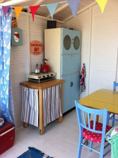 Our beach hut insurance covers physical loss or damage to the structure, fixtures, contents & more. Enquire online or call us for a beach hut quote. Beach Hut Interior, Shed Interior, Beach Hut Decor, Beach Huts, Allotment Shed, Garden Huts, Summer House Interiors, Bedroom Crafts, Cottage Chic