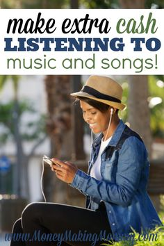 Most of us love listening to music. And now you can get paid to listen to music! Yep -- get paid to discover new music and rate it. Or get paid to listen to the radio. There are several opportunities. See them all at MoneyMakingMommy.com.
