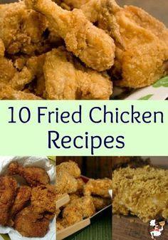 10 Fried Chicken Recipes