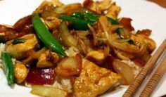chicken stir fry recipe sauce