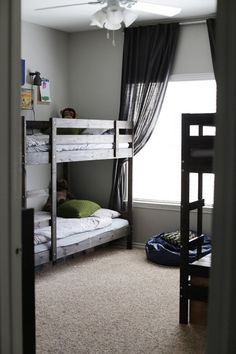 Comfort & Simplicity In A Room For Four Brothers — My Room