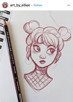 -Cartoon Drawing Tips - Drawing On Demand- Ya girl lost her Apple pencil so no digital art for a while until I can get around to buying another one 😔 hope everyone is having a good weekend. Here's a crappy sketch that I'll probably delete later <br Girl Drawing Sketches, Cartoon Girl Drawing, Cool Art Drawings, Pencil Art Drawings, Doodle Sketch, Drawing Art, Drawing Tips, Cartoon Girls, Drawing Cartoons