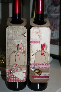 Christmas vine tags I Card, Vines, Diy Crafts, Scrapbook, Gift Ideas, Tags, Christmas, Home Decor, Crafting