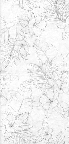 Da Kine Hawaiian Aloha: Wave Shoppe Hawaiian Shirt Fabric Design